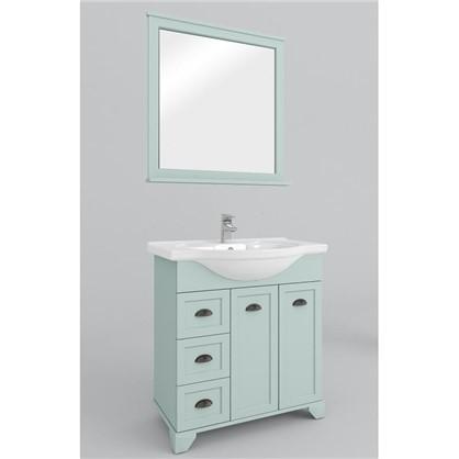 Зеркало Шарм 75 см цвет зелёный