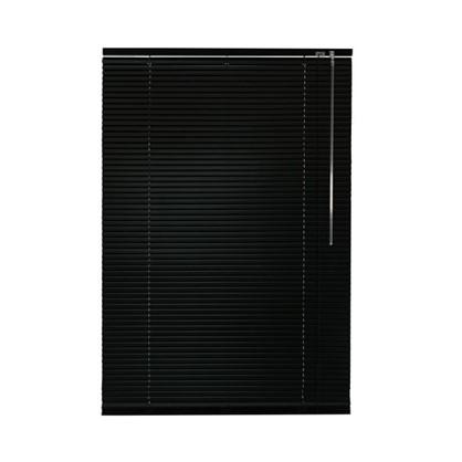 Жалюзи алюминий 70х155 см цвет черный