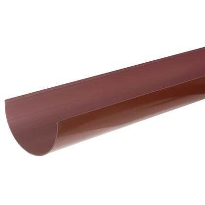 Желоб водосточный 2 м 125 мм цвет красный