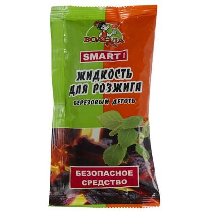 Жидкость для розжига дров и древесного угля Smart 0.1 л