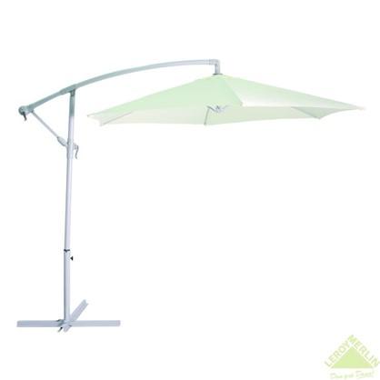 Зонт дачный 2.7 м бежевый подвесной на подставке металл/полиэстер