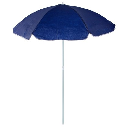 Зонт пляжный 1.4 м синий металл/полиэстер