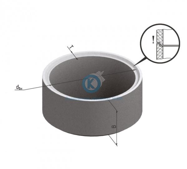 Кольцо бетонное для колодца К-8-10чс