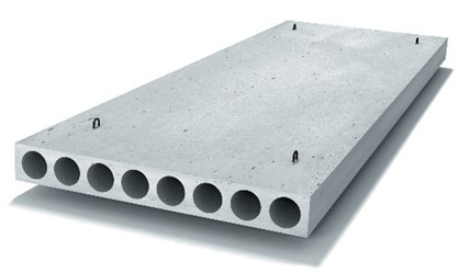 Плиты перекрытий многопустотные П 64-12-12,5 АтV-1
