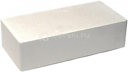 Кирпич одинарный М-250 белый мрамор гладкий