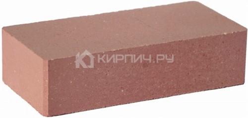 Кирпич гиперпрессованный одинарный М-250 красный гладкий