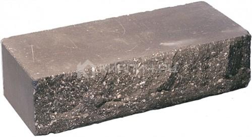 Кирпич одинарный М-250 шоколад рустированный ложок в
