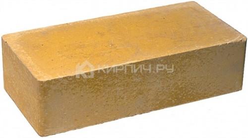 Кирпич одинарный М-250 желтый гладкий