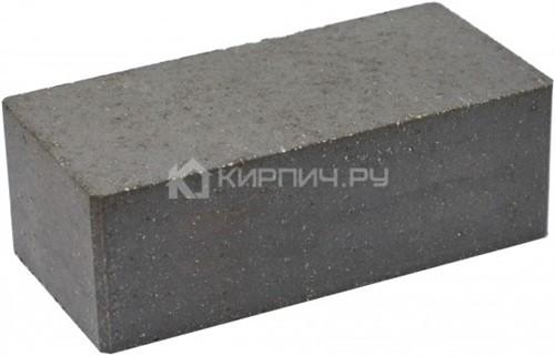 Кирпич полуторный М-250 черный гладкий