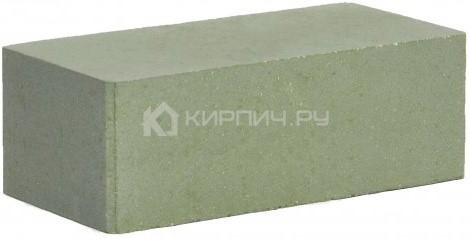 Кирпич гиперпрессованный полуторный М-250 зеленый гладкий