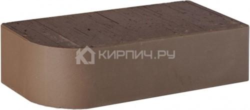 Кирпич LODE Brunis F15 радиус R-60 полнотелый гладкий 250х120х65 М-500