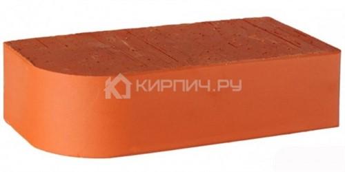Кирпич LODE Janka F15 радиус R-60 полнотелый гладкий 250х120х65 М-500