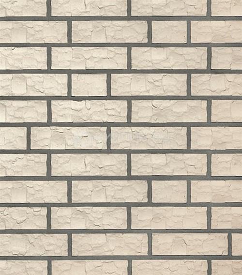 Кирпич для фасада Roben Esbjerg perlweiß NF рельефный 240х115х71