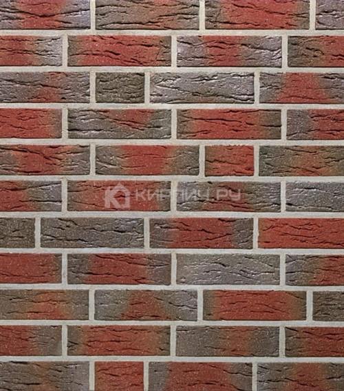 Кирпич для фасада Roben Jever friesisch-bunt NF рифленый 240х115х71