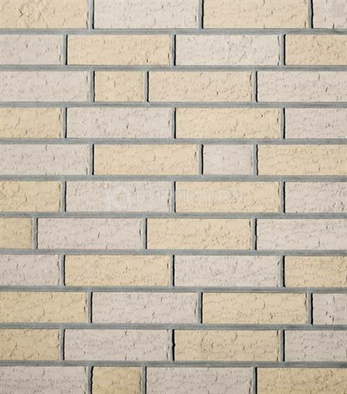 Кирпич для фасада Roben Ravello baryt-weiß NF рельефный 240х115х71 в