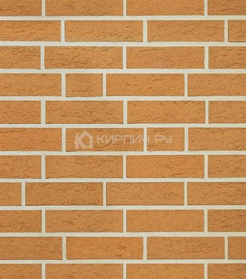 Кирпич для фасада Roben Ravello gelb NF рельефный 240х115х71