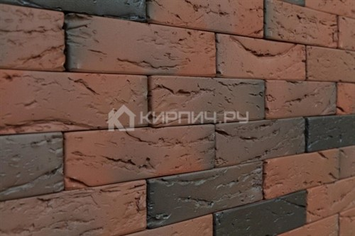 Кирпич для фасада Аренберг одинарный кора дерева М-150 КС-Керамик в
