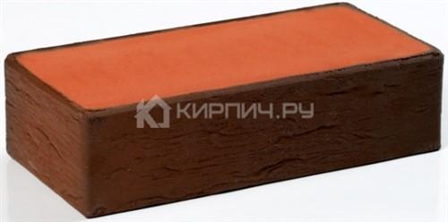 Кирпич для фасада баварская кладка темный одинарный полнотелый руст М-200 Пятый Элемент в