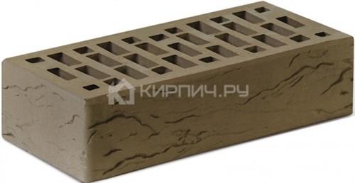 Кирпич для фасада Британия одинарный риф М-150 Ростов