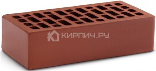 Кирпич для фасада гляссе одинарный гладкий М-150 КС-Керамик в