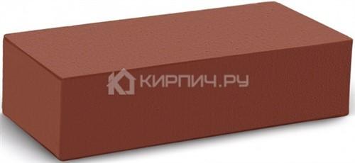 Кирпич для фасада гляссе одинарный гладкий полнотелый М-300 КС-Керамик