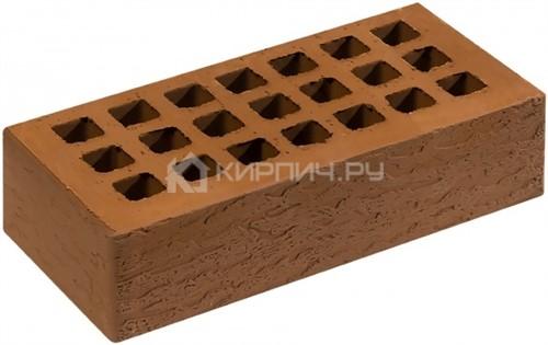 Кирпич для фасада какао одинарный кора дуба М-150 Саранск
