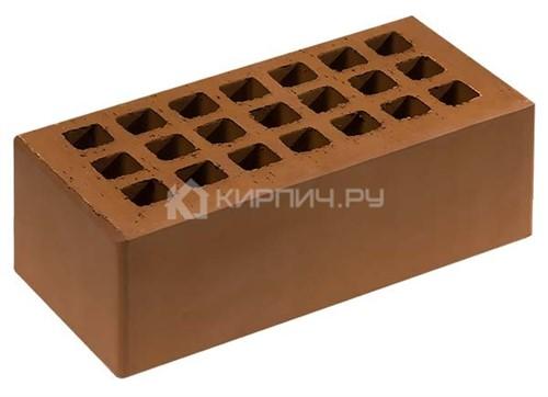 Кирпич для фасада какао полуторный гладкий М-150 Саранск