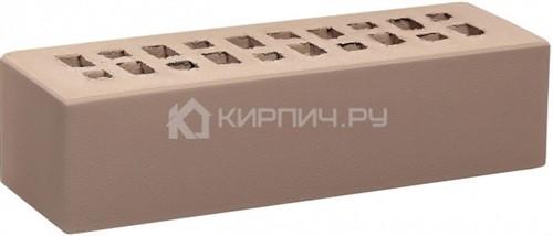 Кирпич для фасада камелот тёмный шоколад евро гладкий М-150 КС-Керамик