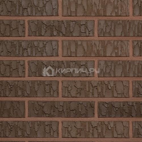 Кирпич для фасада керамический Terca (Wienerberger) TERRA VULCANO рельефный 250х85х65