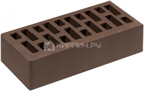 Кирпич для фасада корица одинарный гладкий М-200 Липецк