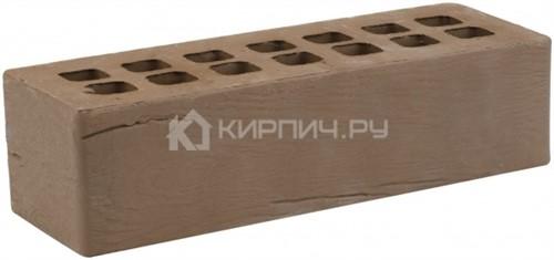 Кирпич облицовочный коричневый евро дерево М-175 ЖКЗ в
