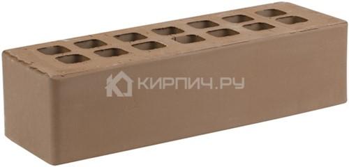 Кирпич для фасада коричневый евро гладкий М-175 ЖКЗ
