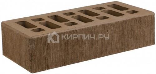 Кирпич для фасада коричневый одинарный бархат М-150 СтОскол