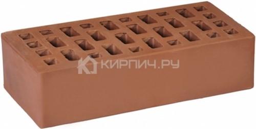 Кирпич для фасада коричневый одинарный бархат М-175 ГКЗ