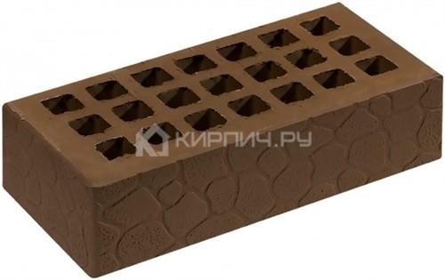 Кирпич одинарный коричневый черепаха М-150 Саранск