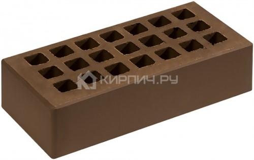 Кирпич СЗЛК (Саранск) коричневый одинарный гладкий М-150 в
