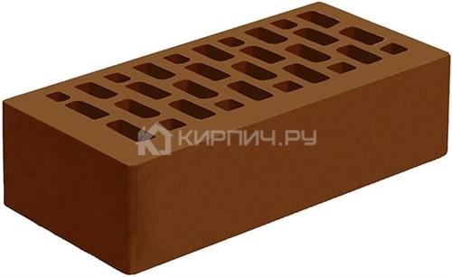 Кирпич для фасада коричневый одинарный гладкий М-175 Голицыно