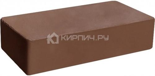 Кирпич одинарный коричневый гладкий полнотелый М-300 ГКЗ