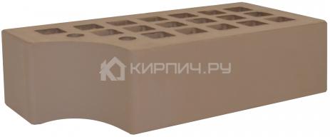 Кирпич одинарный коричневый КФ-1 гладкий М-175 ЖКЗ