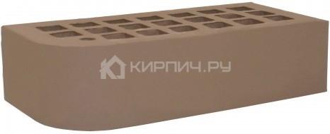 Кирпич облицовочный коричневый одинарный КФ-2 гладкий М-175 ЖКЗ