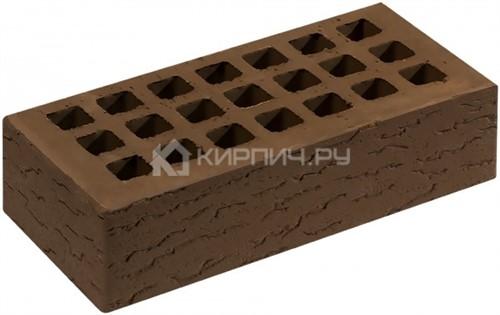 Кирпич СЗЛК (Саранск) коричневый одинарный кора дуба М-150