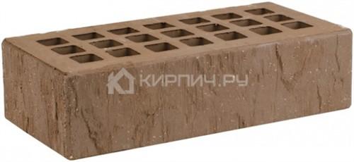 Кирпич одинарный коричневый скала торкрет М-175 ЖКЗ