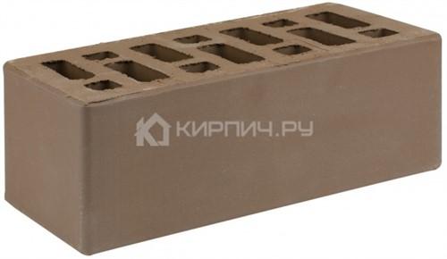 Кирпич для фасада коричневый полуторный гладкий М-150 СтОскол в