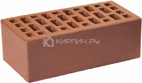 Кирпич облицовочный коричневый полуторный гладкий М-175 ГКЗ