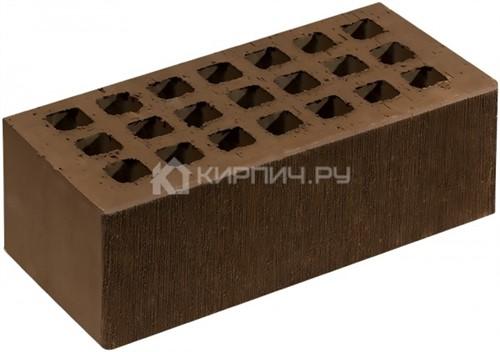 Кирпич для фасада коричневый полуторный шероховатый М-150 Саранск