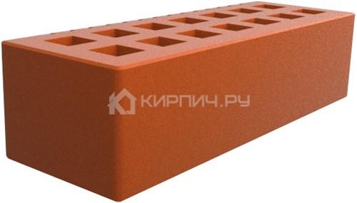 Кирпич для фасада красный евро гладкий М-150 Саранск