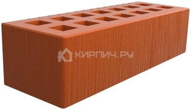 Кирпич для фасада красный евро шероховатый М-150 Саранск