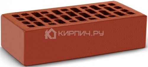 Кирпич для фасада красный одинарный гладкий М-150 КС-Керамик