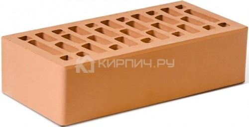 Кирпич для фасада красный одинарный гладкий М-150 Ростов в
