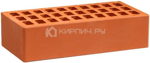 Кирпич облицовочный красный одинарный гладкий М-150  Воротынск